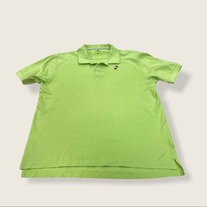 Disney Polo Shirt Green Apple Colour Size Large